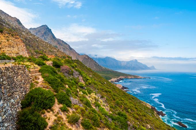Mosselbaai in Zuid-Afrika