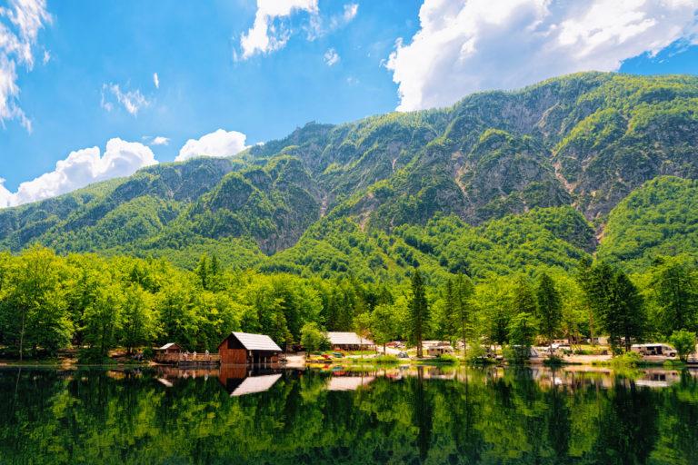 camping-of-rv-caravan-trailers-near-bohinj-lake-of-slovenia