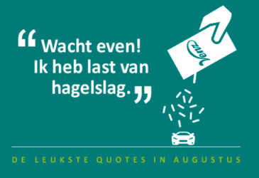 """De quotes van augustus – """"Ik heb last van hagelslag"""""""