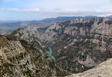 De Gorges du Verdon, de Franse Grand Canyon