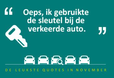 """De quotes van november – """"De sleutel doet het niet?"""""""